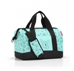 Torba dla dziecka allrounder M kids cats and dogs mint
