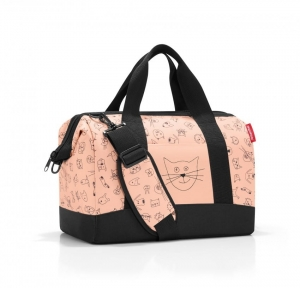 Torba dla dziecka allrounder M kids cats and dogs rose