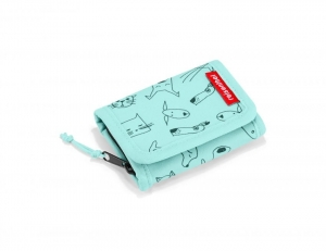Portfel dziecięcy wallet S kids cats and dogs mint