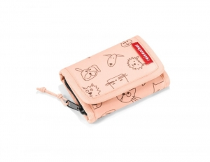 Portfel dziecięcy wallet S kids cats and dogs rose