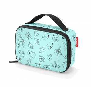 Torba na śniadanie thermocase kids cats and dogs mint