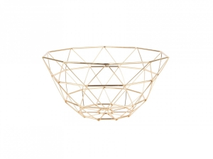 Basket Diamond Cut złoty